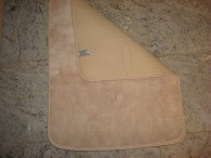 Beige Plush Bath Mat