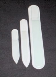 Clear Crystal Nail File